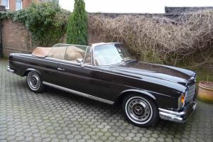 1971 Mercedes 280SE 3.5 Convertible - completly restored, magnificant