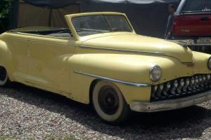 1947 DESOTO CONVERTIBLE RESTOMOD CLASSIC HOTROD, NOT YOUR CHEVY OR FORD