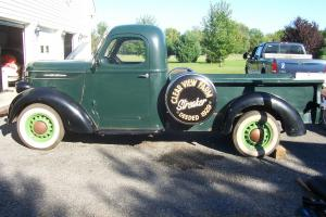 1939 International D-2 Pick Up RARE Older restoration Barn find