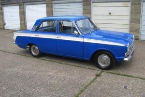 1965 FORD CORTINA MK1 BLUE/ classic / old skool /
