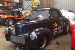 1941 Willys Coupe Rolling Shell