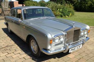 1968 Silver Shadow A charming original early Shadow 1 with 3 speed gearbox