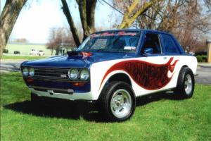 Show Quality V8-powered Datsun 510 Gasser!! One of a Kind!!! Photo