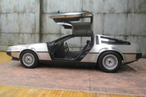 1981 DeLorean DMC DMC 5 Speed Manual GULLWING GREAT INVESTMENT SERVICED