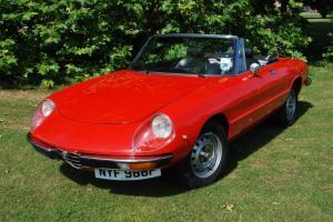 1976 Alfa Romeo 2000 Spider Veloce, LHD, VGC Bodywork, Mechanicals, Interior
