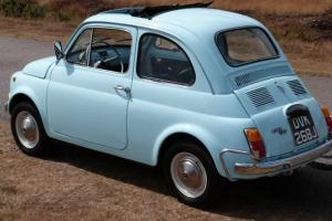 1971 FIAT 500F, POWDER BLUE, 24000 MILES, TOTALLY STUNNING