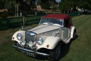 1967 GENTRY KIT CAR CREAM MG TF Lookalike