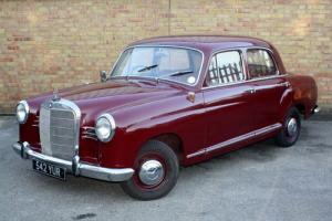 Mercedes-Benz 190B Ponton 4 Door 4 Speed Column Shift