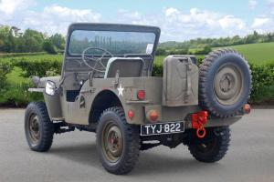 1952 WILLYS JEEP GREEN  Photo