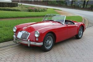1956 MGA Roadster restored detailed 1500cc show quality