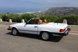 Original 13,000 mile 1987 560SL White/Tan