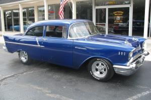 1957 Chevrolet 150 355 Muncie 4 speed Vintage AC disc brakes Frame Off Resto