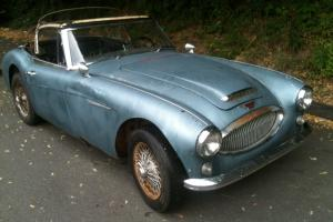 1965 Austin Healey original Colorado red restore yourshelf or we can help you Photo