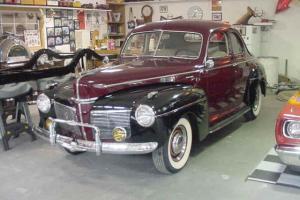 1941 Mercury Opera Coupe
