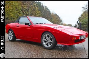 1985 TVR TASMIN 2.8i V6 WEDGE SOFT TOP CONVERTIBLE CLASSIC CAR Capri based gem  Photo