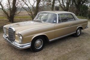 MERCEDES 220SE Coupe Auto 1966 55k Miles