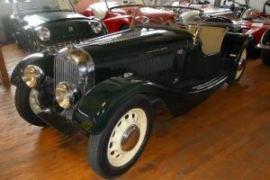 1949 Morgan 4/4 Flat Rad convertible vintage classic British sports car