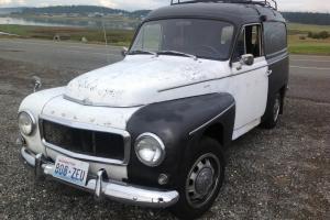 1963 Volvo 544 panel