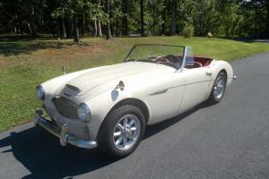 1958 Austin Healey 100/6 roadster, restored, drives great, Panasport wheels Photo