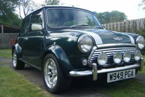 Rover mini cooper standard car Green eBay Motors #231040270922