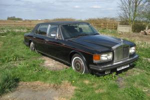 Rolls-Royce Silver Spur 1982. Restoration or Spares.  Photo