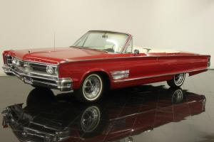 1966 Chrysler 300 Convertible 383ci V8 325 HP Automatic Power Options AC CD