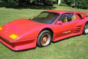 83 Ferrari 512 bbi W Keonig Twin Turbo DOT Approved