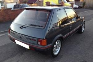 1988 Peugeot 205 GTi 1.6, very rare, registered in USA, restored and super clean
