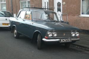 1966 MOSKVICH 408 BLUE