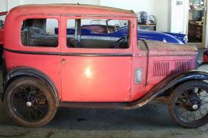 Austin 7 RP box saloon 1933