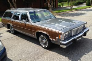 1983 Mercury/Ford Colony Park station wagon 4400 original miles Photo