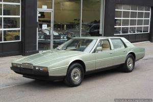 Aston Martin Lagonda left hand drive 1982