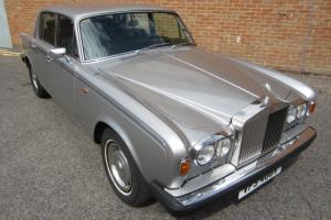1979 ROLLS ROYCE SILVER SHADOW II 75TH ANNIVERSARY