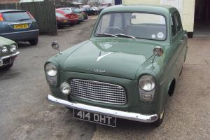 EXCEPTIONAL 1958 FORD PREFECT BARN FIND RESPRAYED EXCELLENT MECHANIICS