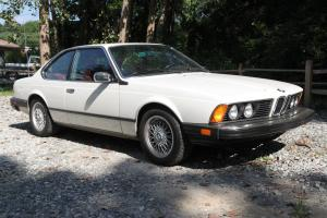633CSI E24 Excellent Condition, Low Miles, 2 Owners