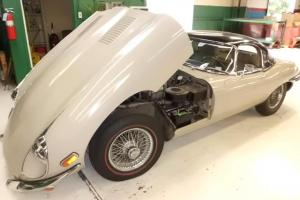 Classic Jaguar 1969 XKE Roadster with Black Hard Top - 6cyl 4.2 mtr