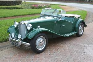 1950 MG TD RHD Photo