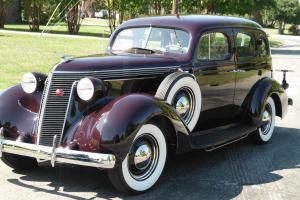 Beautiful 1937 Studebaker Dictator restored 4 door dual side mounts Photo