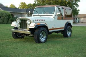 1982 CJ7 Laredo 4x4 Classic Jeep Photo