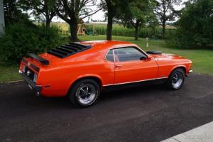 1970 FORD MUSTANG MACH 1 4 SPEED CAR  VERY GOOD CONDITION RECENT RESTRATION
