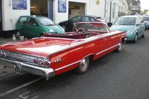 Mercury Montery S55 Convertible PETROL MANUAL 1963/7