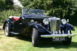 1952 MG TD - Stunning example of the marque.