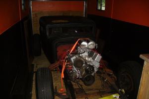 1930 rat rod hudson chop top custom hot rod classic project blower race car look Photo