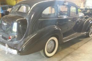 "1936 HUDSON EIGHT, LONG WHEEL BASE / ""WAS IN THE MOVIE AVALON"""