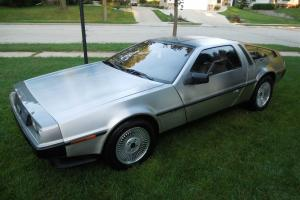 1981 DeLorean 5-Speed Gray Interior Stage II Photo