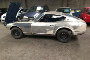 DATSUN 240Z BLUE RHD UK CAR