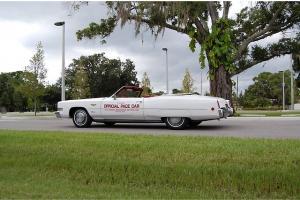 1973 Cadillac Eldorado Convertible Pace Car 49K Actual Miles Factory AC Original