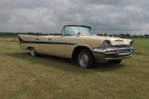 1958 DeSoto Firesweep Parade Car  All the fun at a fraction of the cost.