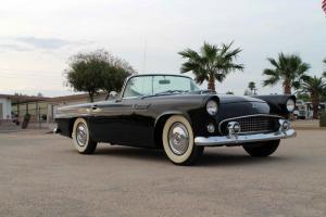 1955 Ford Thunderbird - Survivor - Raven Black! Fender Skirts included! Video!