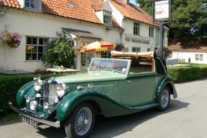 1937 MG SA Salmons Tickford 6 cylinder 2.3litre DHC